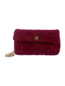 Chanel Persian Lamb Small Flap