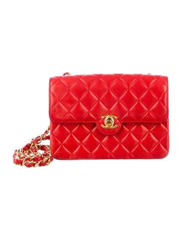 Chanel Lambskin Mini Flap Bag
