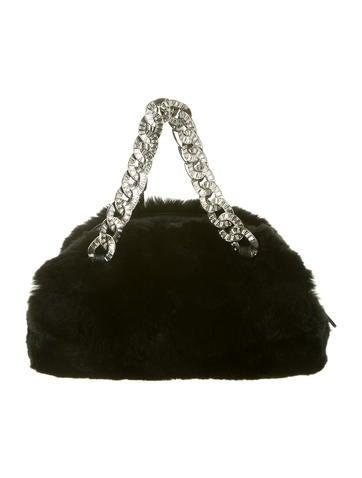 Chanel Rabbit Fur Handle Bag