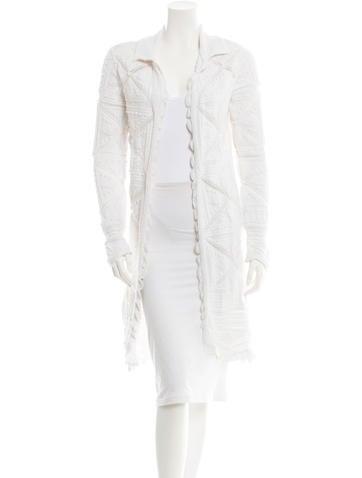 Chanel Long Vest