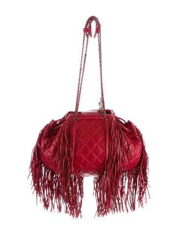 Chanel Paris-Dallas Koord Fringe Bag