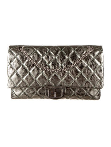 Chanel Metallic 2,55 Reissue 227 Double Flap Bag