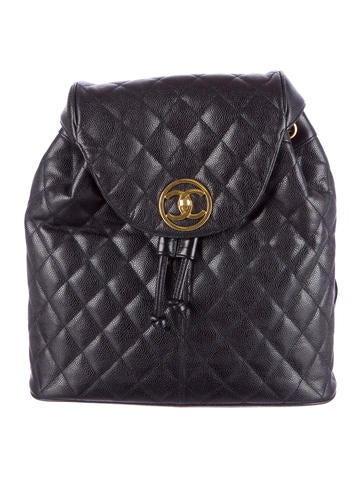 Chanel Caviar Quilted Backpack