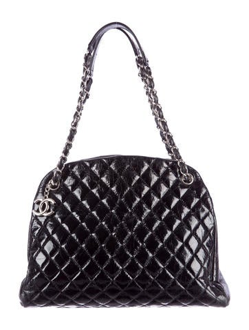 Chanel Net Mademoiselle Grote Bowling Tas