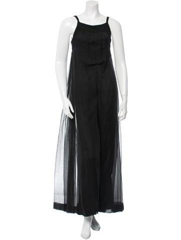Chanel Silk Jumpsuit