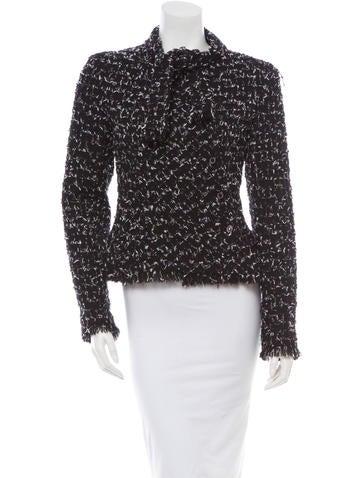 Chanel Sjaal Tie Jacket