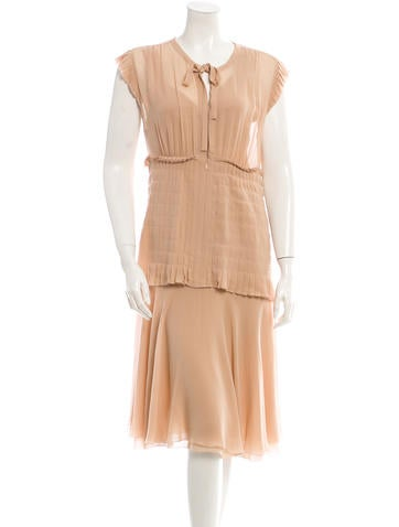 Chanel Silk Dress