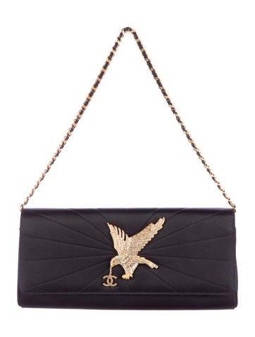 Chanel Strass Embellished Clutch