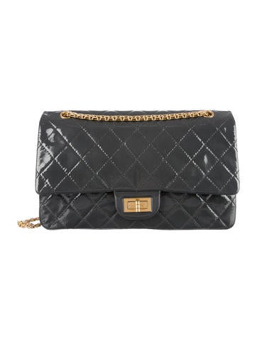 Chanel Patent 2.55 Reissue 227 Flap Bag