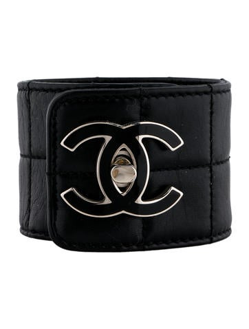 Chanel Quilted CC Cuff