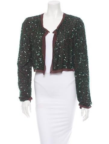 Chloé Sequin Jacket
