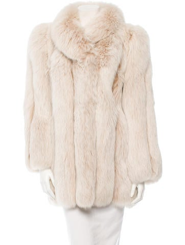 Chloé Fox Fur Coat