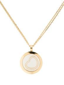 Chopard Happy Spirit Diamond Heart Necklace