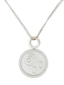 Chopard Happy Spirit Round Diamond Necklace