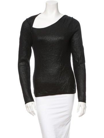 Christian Dior Metallic Sweater