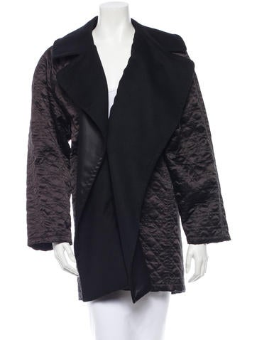 Christian Dior Cannage Quilted Coat