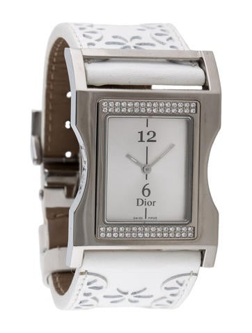 Christian Dior Diamond Quartz Watch