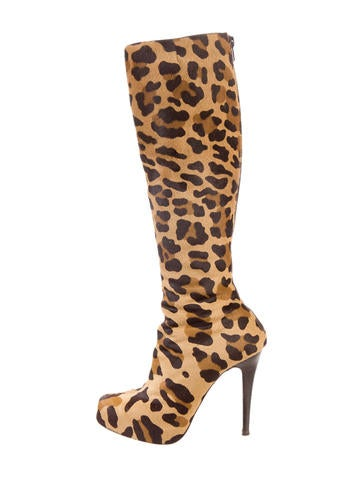 Christian Louboutin Ariella Ponyhair Boots