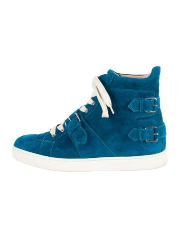 Christian Louboutin Mickael High-Top Sneakers