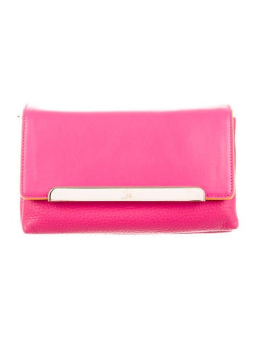 Christian Louboutin Rougissime Small Calf Clutch w/ Tags None