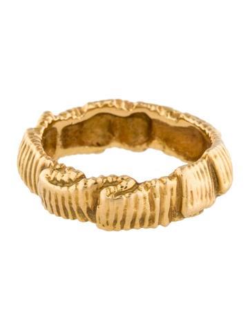 Angela Cummings Textured Band Ring