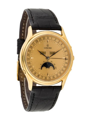 Concord Complete Calendar Watch