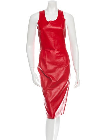Costume National Leather Dress w/ Tags