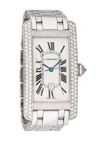 Cartier Diamond Tank Américaine