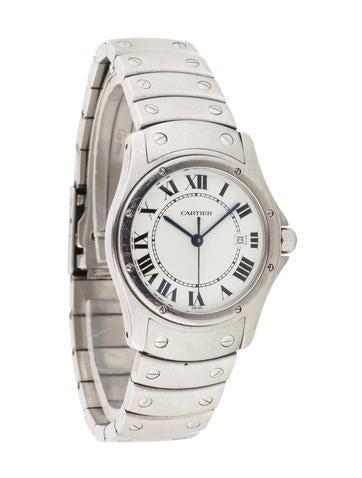 Cartier Round Santos Watch