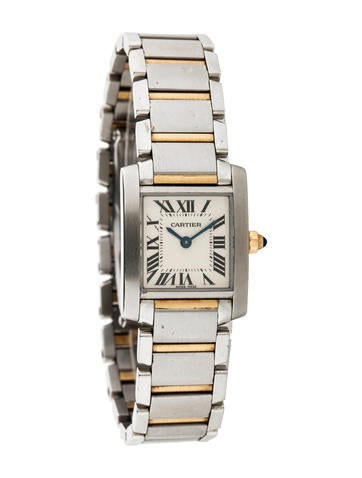 Cartier Two-Tone Tank Française Watch