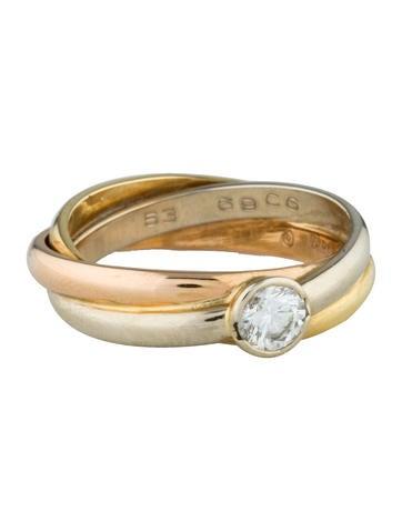 Cartier Diamond Trinity Verlovingsring