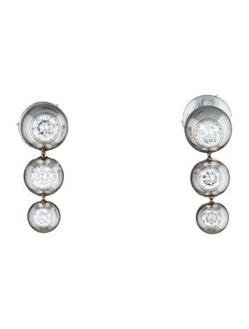 Cartier diamanten oorbellen