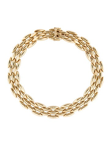 Cartier 18K Gentiane Five-Row Collar Necklace