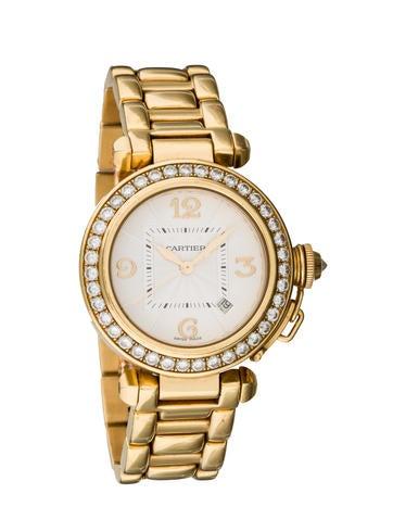 Cartier Diamond Pasha de Cartier Watch 2519