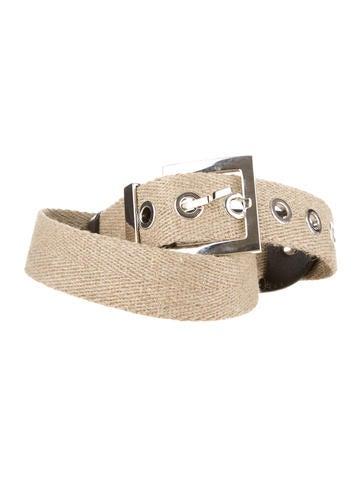 Dolce & Gabbana Canvas Belt