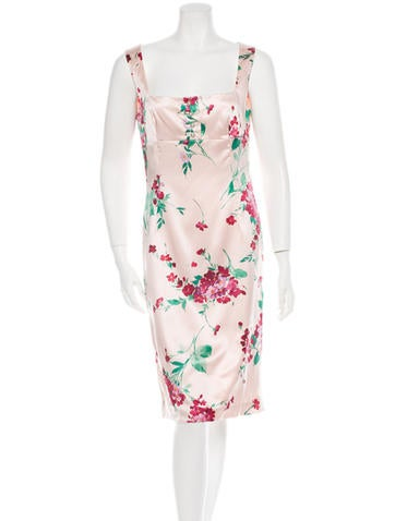Dolce & Gabbana Floral Dress