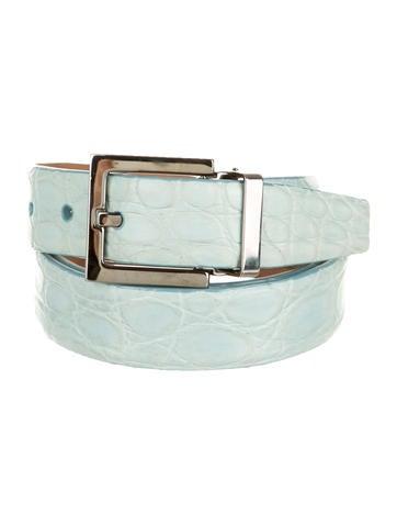 Dolce 0026 Gabbana Crocodile Belt