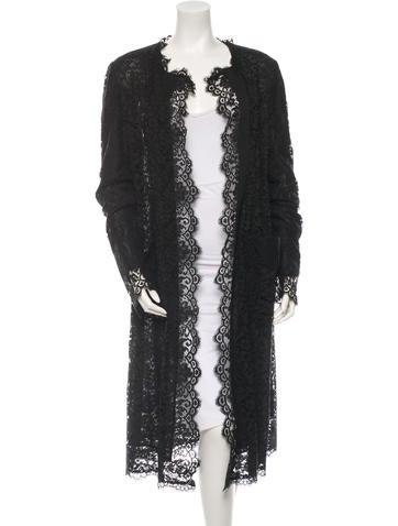 Dolce 0026 Gabbana Lace Coat