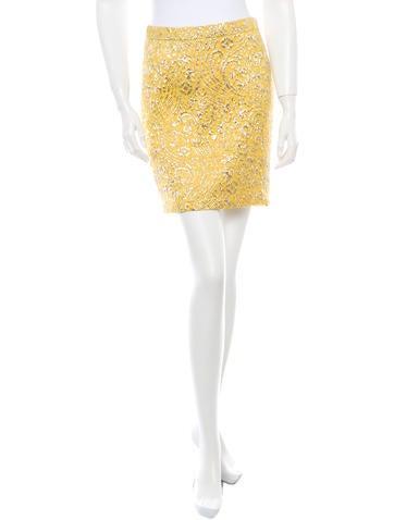 Dolce 0026 Gabbana Brocade Rok