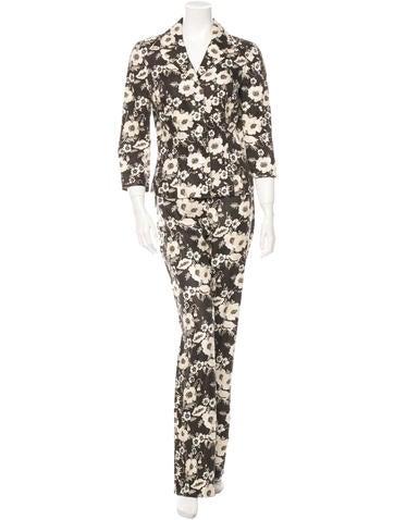 Dolce & Gabbana Floral Pantsuit