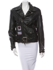 Dsquared² Leather Jacket