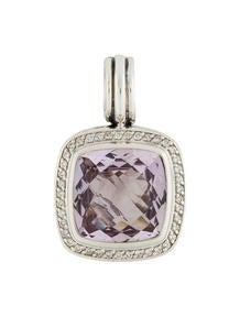 David Yurman 30ctw Lavender Amethyst Diamond Enhancer