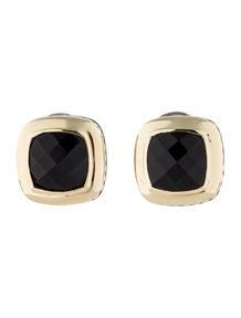 David Yurman Black Onyx Albion Earrings