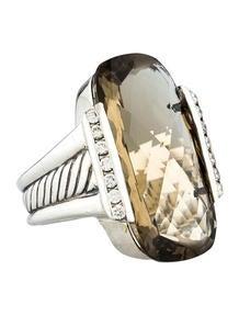 David Yurman Smoky Quartz Ring