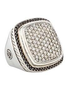 David Yurman Pavé Large Albion Ring