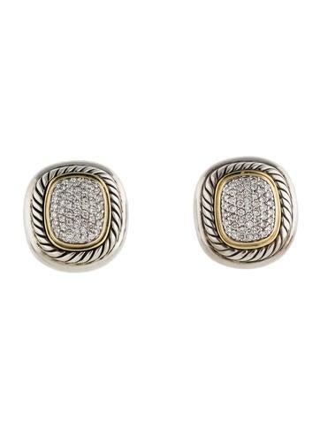 David Yurman Pavé Diamond Albion Earrings