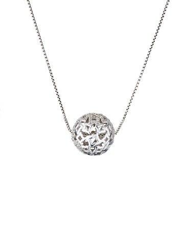 David Yurman Tapestry Diamond Pendant Necklace