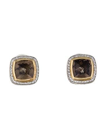 David Yurman Albion Smoky Quartz Earrings