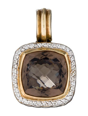 David Yurman Albion Smoky Quartz Enhancer