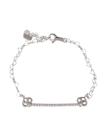 Nanis Diamond Heart Bracelet